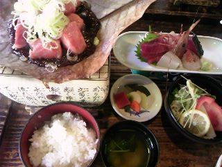 朴葉ステーキ定食