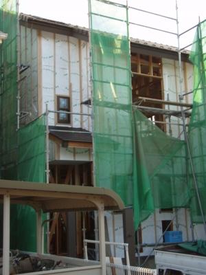 Sさま邸建築中20100917