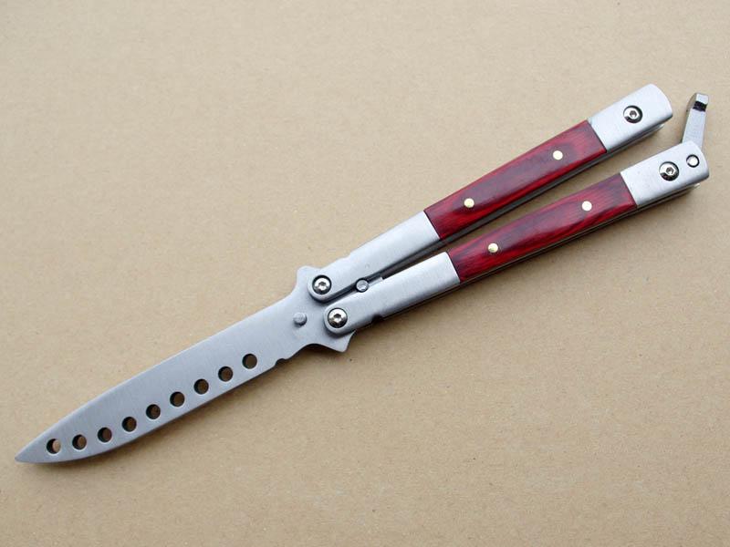 ナイフ 技 バタフライ