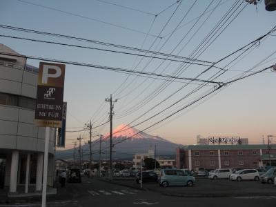 新・第二駐車場よりの富士山