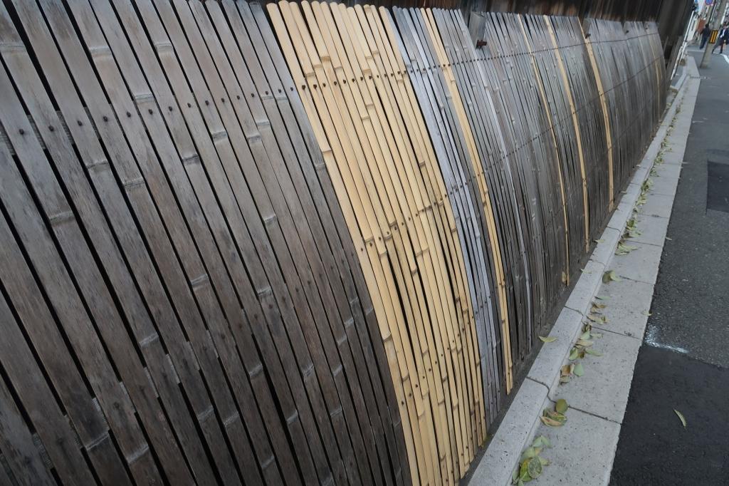 修復作業 kyoto