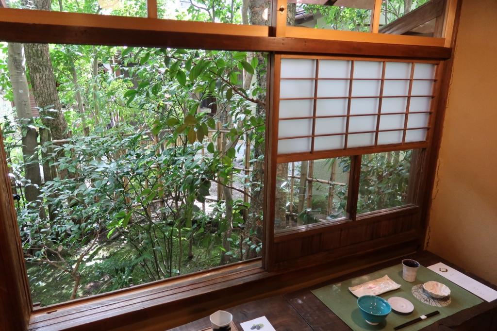 夏の雪見窓 kyoto