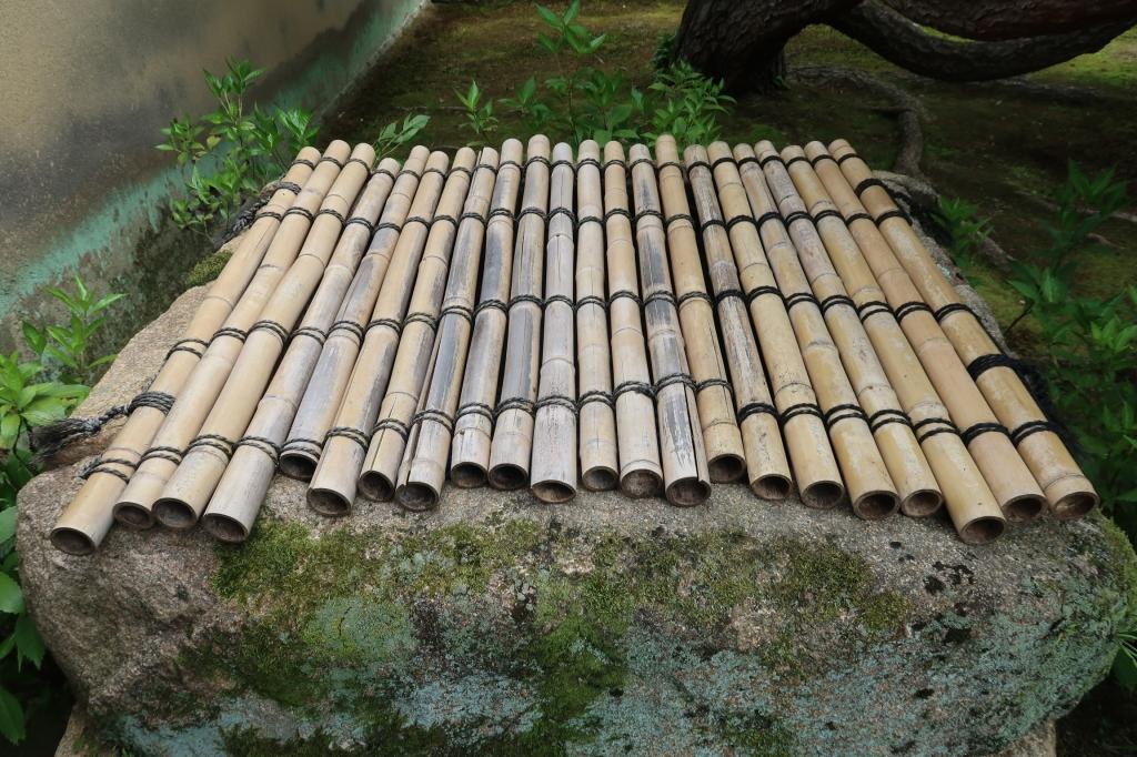 竹とシュロ紐 kyoto