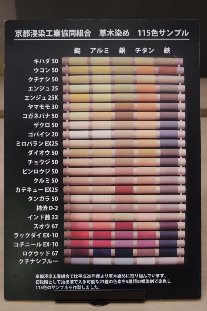 『115色サンプル』 kyoto
