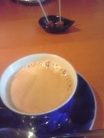 コーヒーと生チョコ