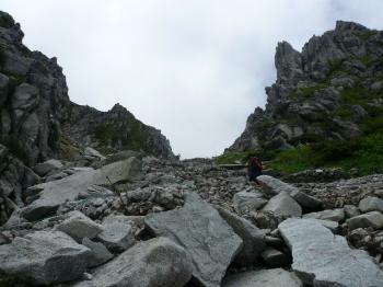 八丁坂登山