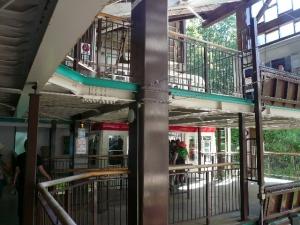 新穂高ロープウェイ2階