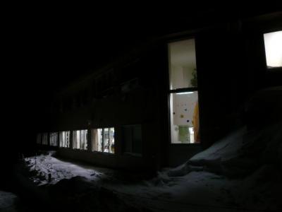 夜のホテル千畳敷