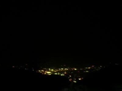 夜の駒ヶ根市街