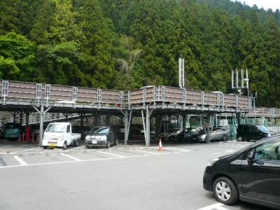 滝本駅駐車場