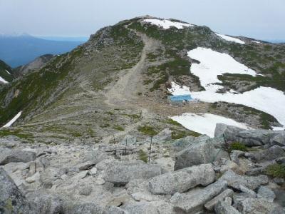 中岳から木曽駒ヶ岳