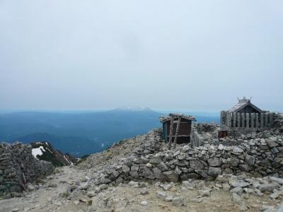 木曽駒ヶ岳から御嶽