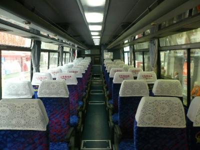 山梨交通バス車内