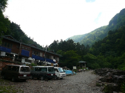 夏沢鉱泉 全景