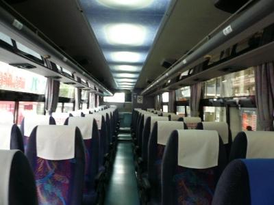 富士急バス 車内(茅野)