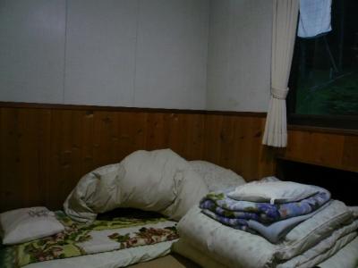 オーレン小屋 個室