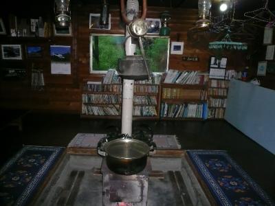 オーレン 暖炉