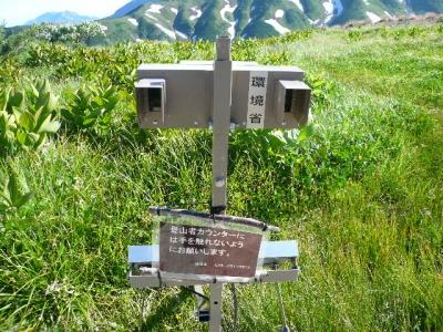立山 登山者カウンター