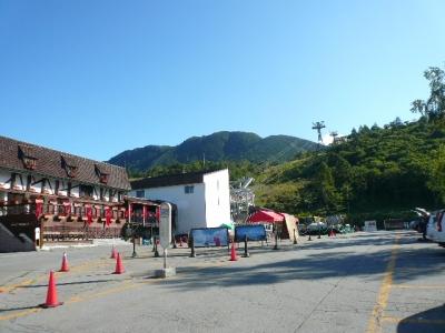 北八ヶ岳ロープ入口