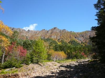 南沢から横岳