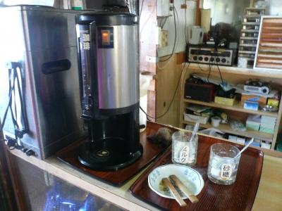 赤岳展望荘 コーヒー