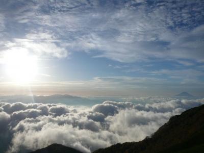 赤岳天望荘 富士山