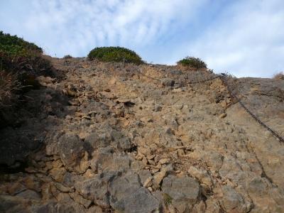 赤岳天望荘−赤岳登り