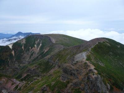 横岳〜硫黄岳山荘1