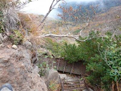 横岳〜硫黄岳山荘2