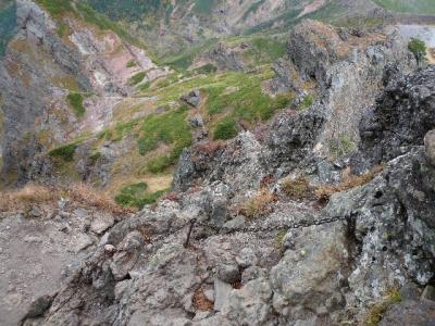 横岳〜硫黄岳山荘3