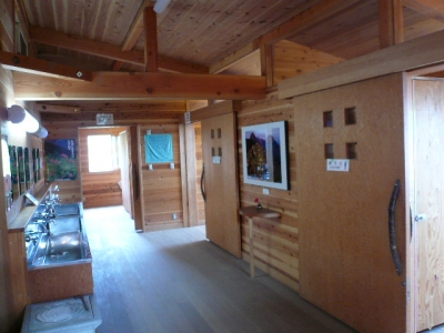 硫黄岳山荘 トイレ
