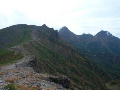 硫黄岳山荘〜硫黄岳3