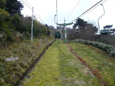 剣山リフト1700m