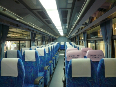 三重交通バス車内
