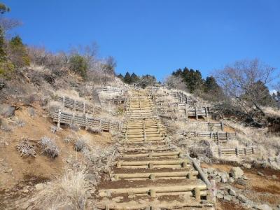 丹沢1日目 階段