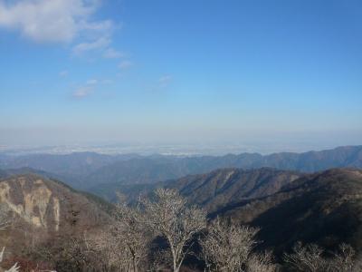 塔ノ岳からの景色