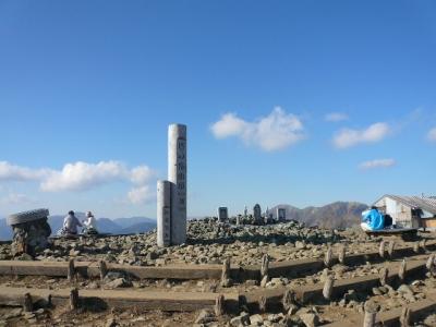 塔ノ岳山頂広場