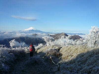 丹沢山〜蛭ヶ岳と富士山