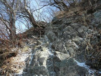 蛭ヶ岳〜檜洞丸くさり