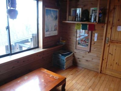 みやま山荘 休憩室