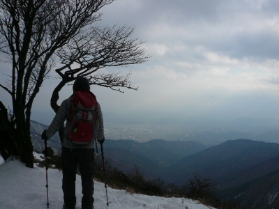 木ノ又大日付近風景