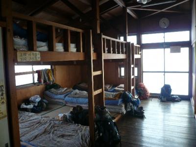 尊仏山荘_寝室