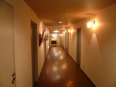 王ヶ頭ホテル館内廊下