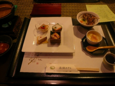 王ヶ頭ホテル_夕食
