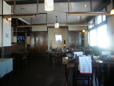 王ヶ頭ホテル_食堂