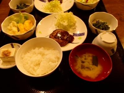 雲取山荘_夕食