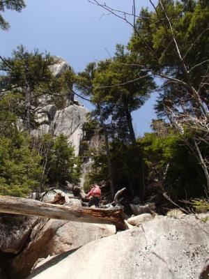 瑞牆山 岩1