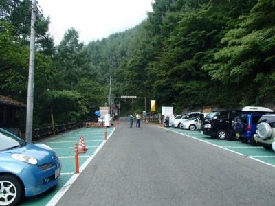 夜叉神の森駐車場