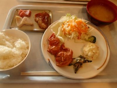 白馬山荘夕食
