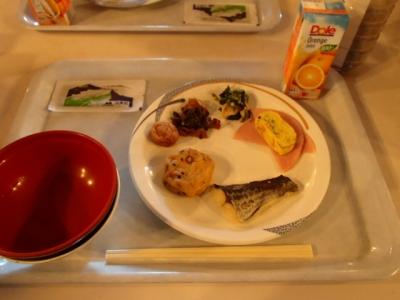 白馬山荘朝食